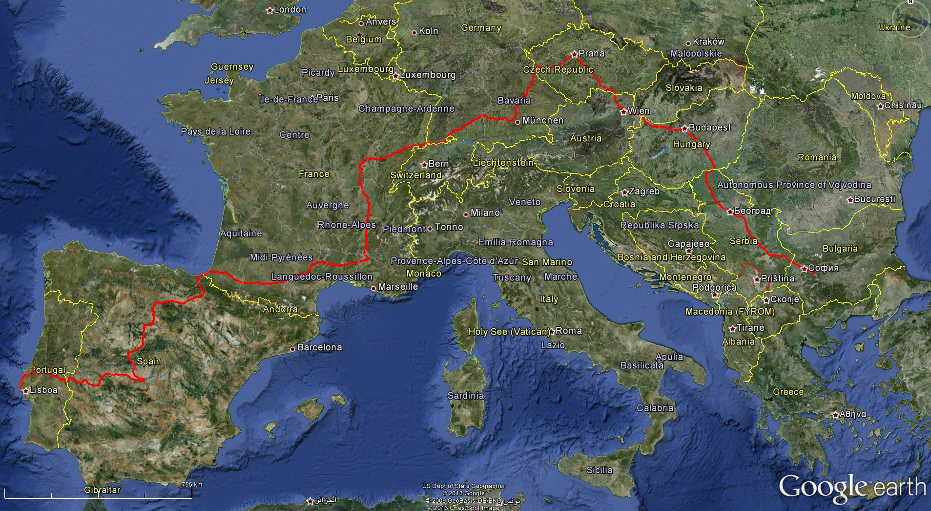 TNS Europe to 6 May 2013 -Google earth | Tom's Next Step on latest map of europe, google road map europe, google switzerland europe, google maps eastern europe, google maps street view, google world maps with countries, home map of europe, easy to read map of europe, war map of europe, full map of europe, google search map of europe, london on map of europe, garmin map of europe, old world map of europe, largest cave in europe, bern on map of europe, detailed map of europe, size of europe, google maps europe slovenia, google map of western europe,