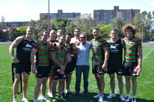 With Souths Players