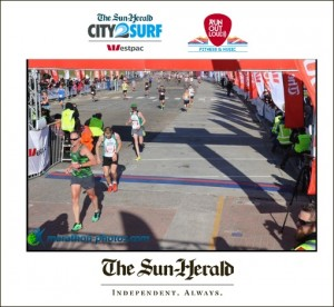 City to Surf Finish Photo
