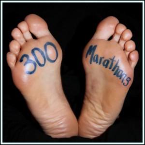 300 Marathons