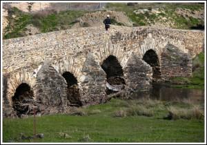 Old Bridge in Spain