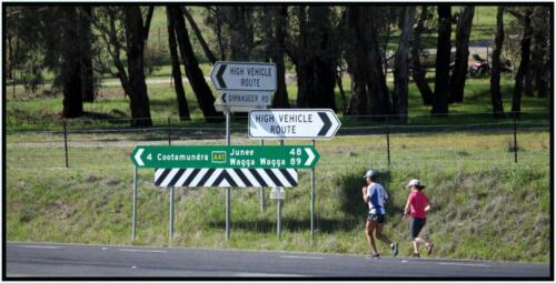 14km South of Cootamundra - 10km South of Harden, NSW - 11