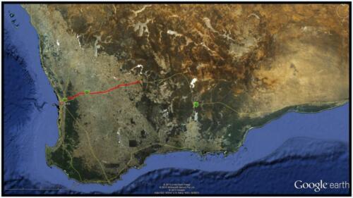 TNS Aust 2nd leg 17 Jun 2013 -Google earth_cr