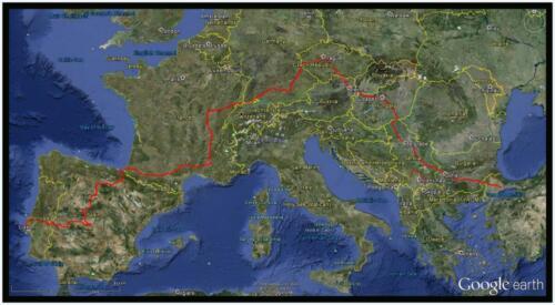 TNS Europe to 14 May 2013 -Google earth