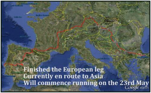 TNS Europe to 16 May 2013 -Google earth