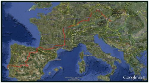 TNS Europe to 17 Apr 2013 -Google Earth
