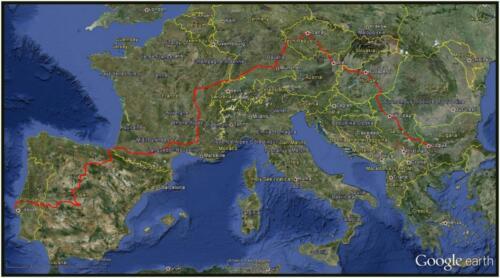 TNS Europe to 6 May 2013 -Google earth